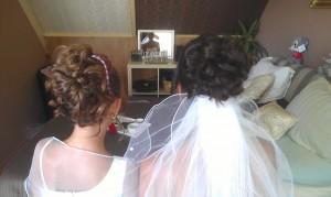 Bruidskapsel Thuiskapster Nathalie
